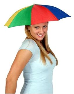 f582fa6e677 Funny Umbrella Golf Fishing Costume Party Sun Shade Hat Could be a flower  type hat  Blockbustercostumes.com