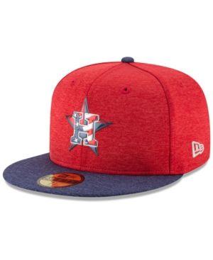 newest e2518 0b3b4 New Era Boys  Houston Astros Stars   Stripes 59FIFTY Cap - Red 6 1 2