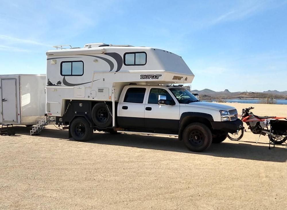 21++ Flatbed camper High Resolution