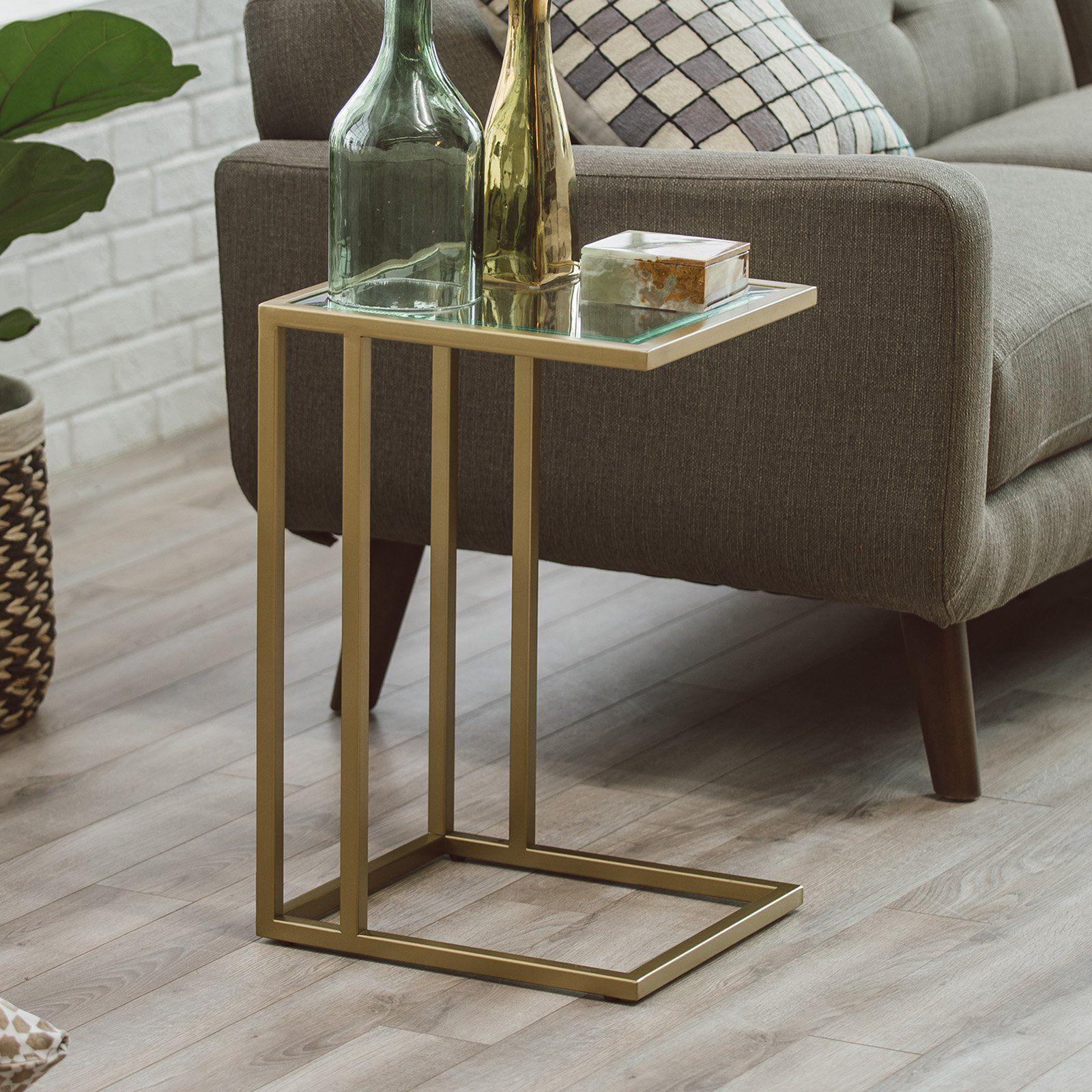 Belham Living Lamont C Table Gold C Table