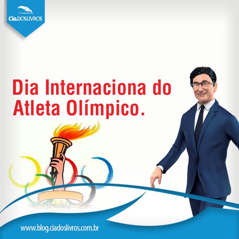 Em homengem ao Comitê Olímpico Internacional, criado pelo barão Pierre de Coubertin, foi instituído o Dia do Atleta Olímpico em 23 de Junho de 1894. Nossa homenagem a todos os atletas olímpicos do mundo.