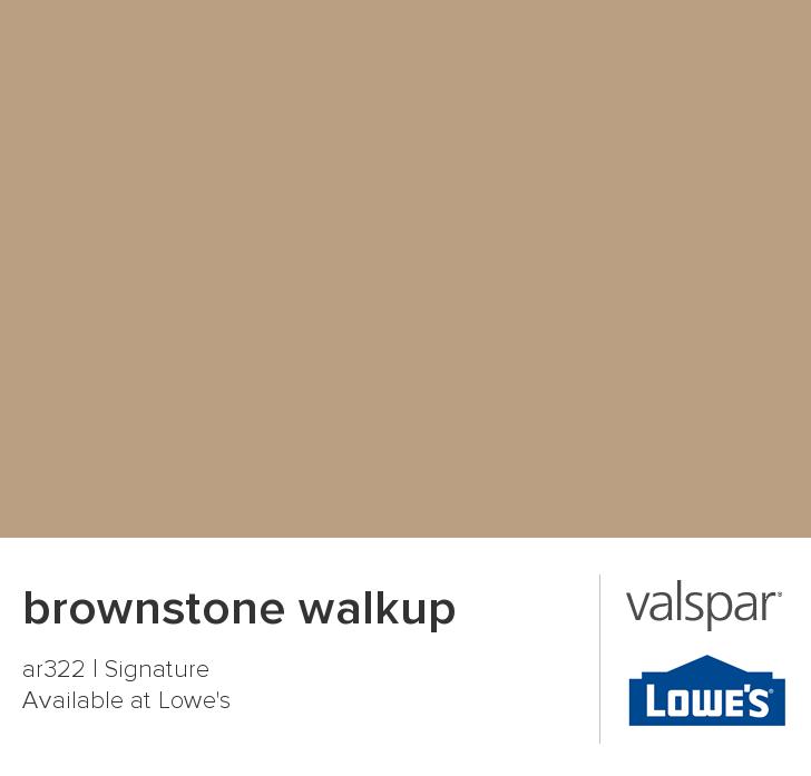 Valspar Paint Color Chip Brownstone Walkup Valspar Paint Colors Valspar Valspar Paint