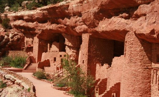 The-manitou-cliff-dwellings-4f55230646d09d1b7d000022 #manitousprings
