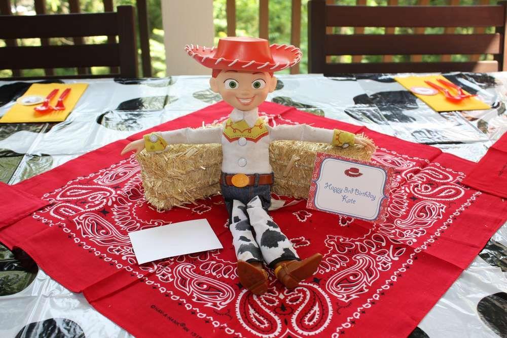 Jessie Toy Story Birthday Party Ideas Photo 1 Of 11 Catch My