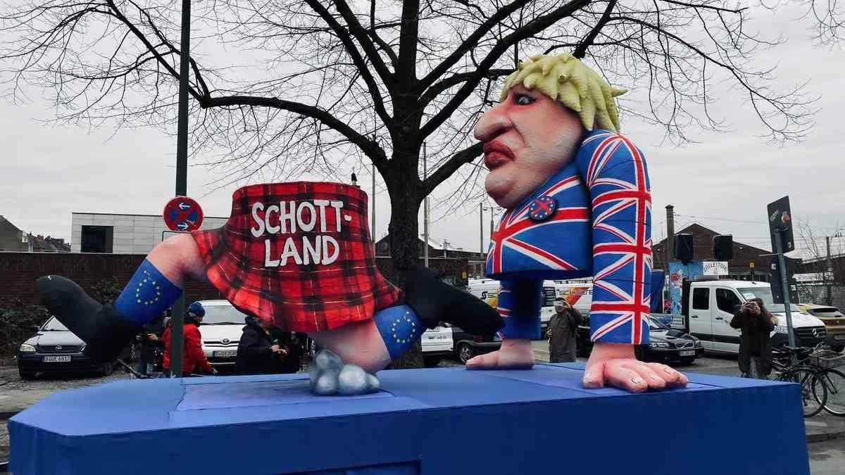 Düsseldorf Mottowagen
