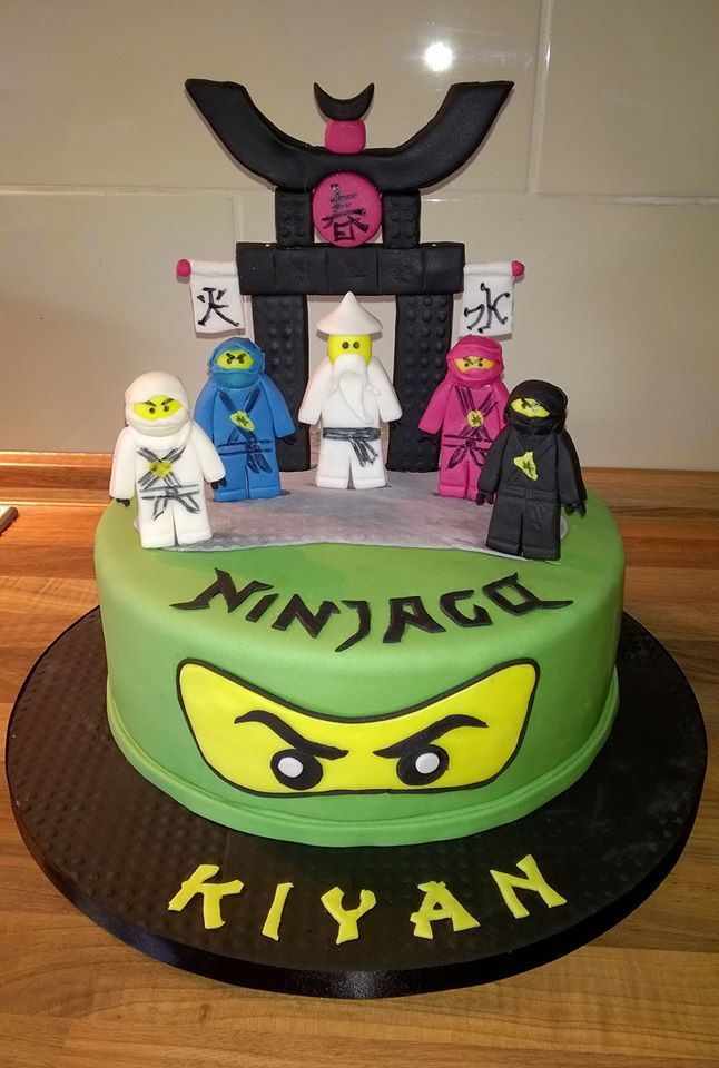 Ninjago Torte  Kuchen  Pinterest  Geburtstag kuchen Kuchen und Ninjago kuchen
