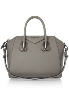 54bc5c3637 Givenchy Small Antigona bag in gray leather   I m hunting this bag down in  Paris! I m ready to rock you