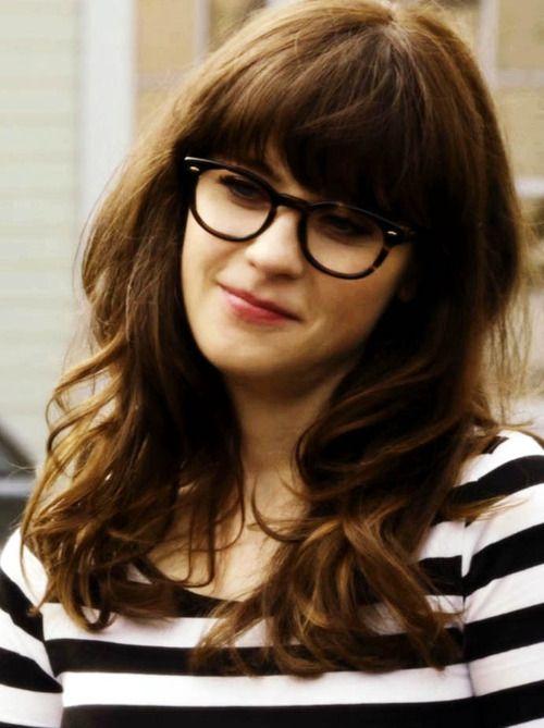 0271aa2eda Zooey Deschanel. Her glasses  3