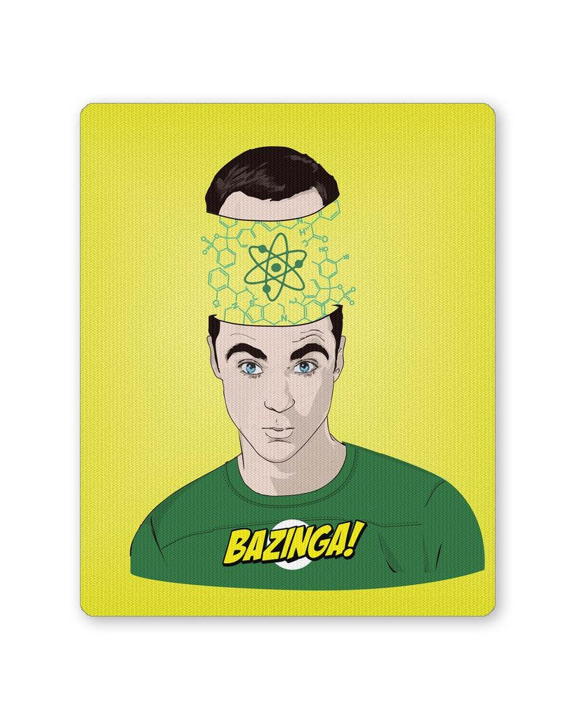 Bazinga | The Big Bang Theory Inspired Fan Art Mouse Pad | Mouse ...