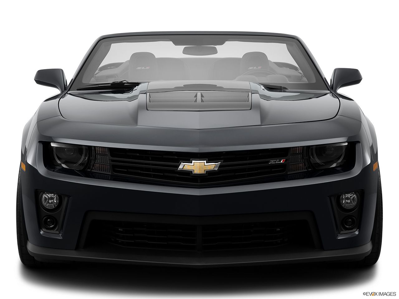 2015 chevrolet camaro zl1 convertible front angle view