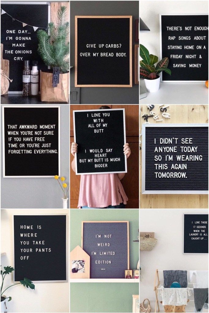 Photo of 15 x de leukste letterbord quotes – One Hand in my Pocket