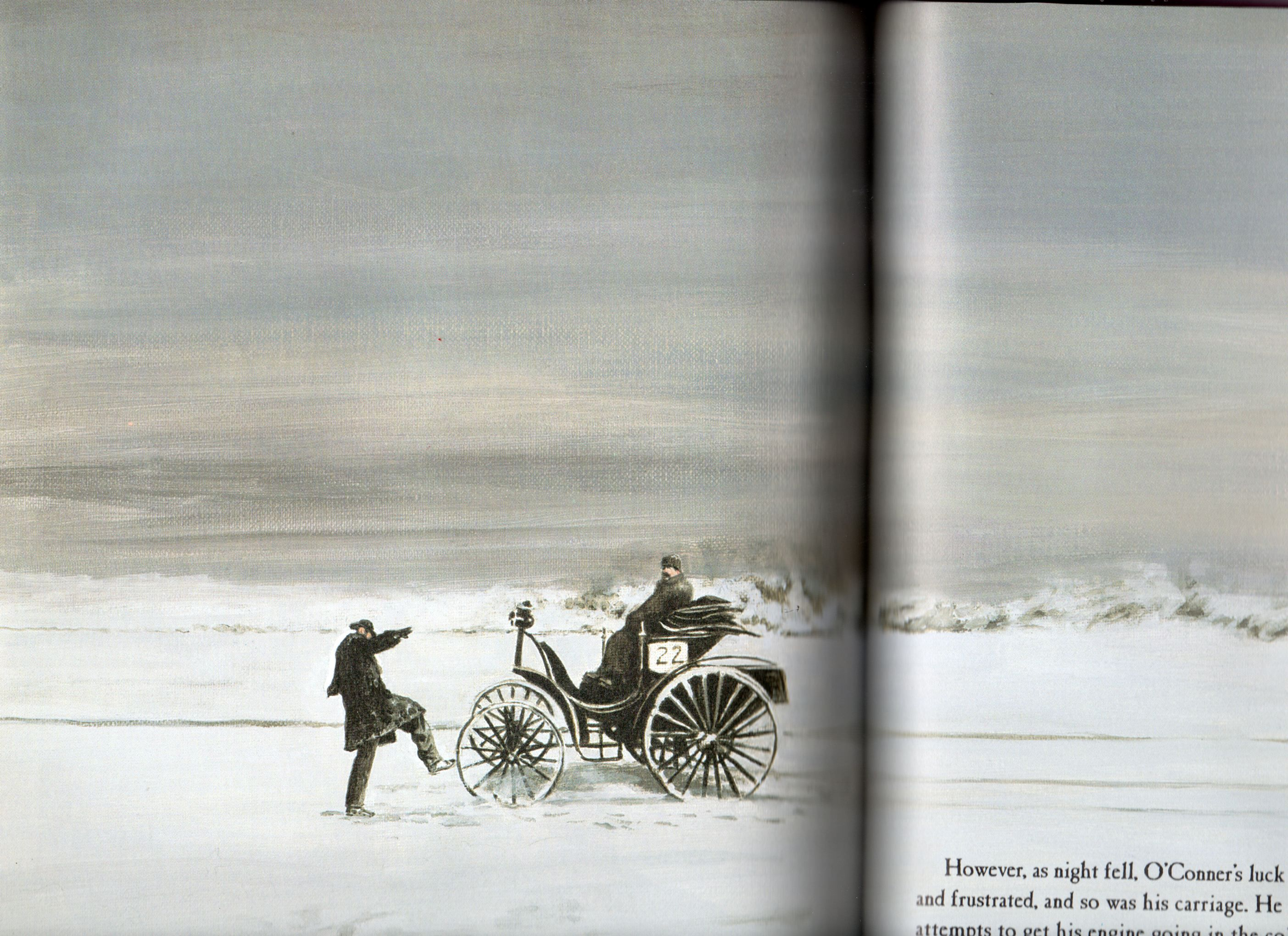 Had enough snow?  Frank Duryea in The Great Horseless Carriage Race certainly did. If your moving south then get going. If your staying in the South Jersey area consider realtors Patricia Dooling and Steven Dooling who were both named to South Jersey Magazine's Top Realtor's List. http://www.doolinggroup.com/NJ/