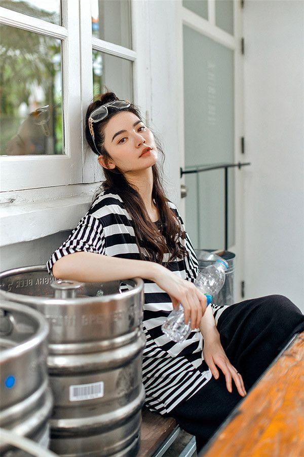 Long Striped Tee