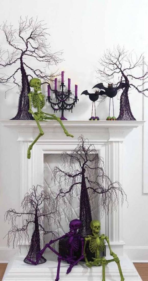 Halloween decorations  IDEAS  INSPIRATIONS Super Cool Halloween - simple halloween decorations to make