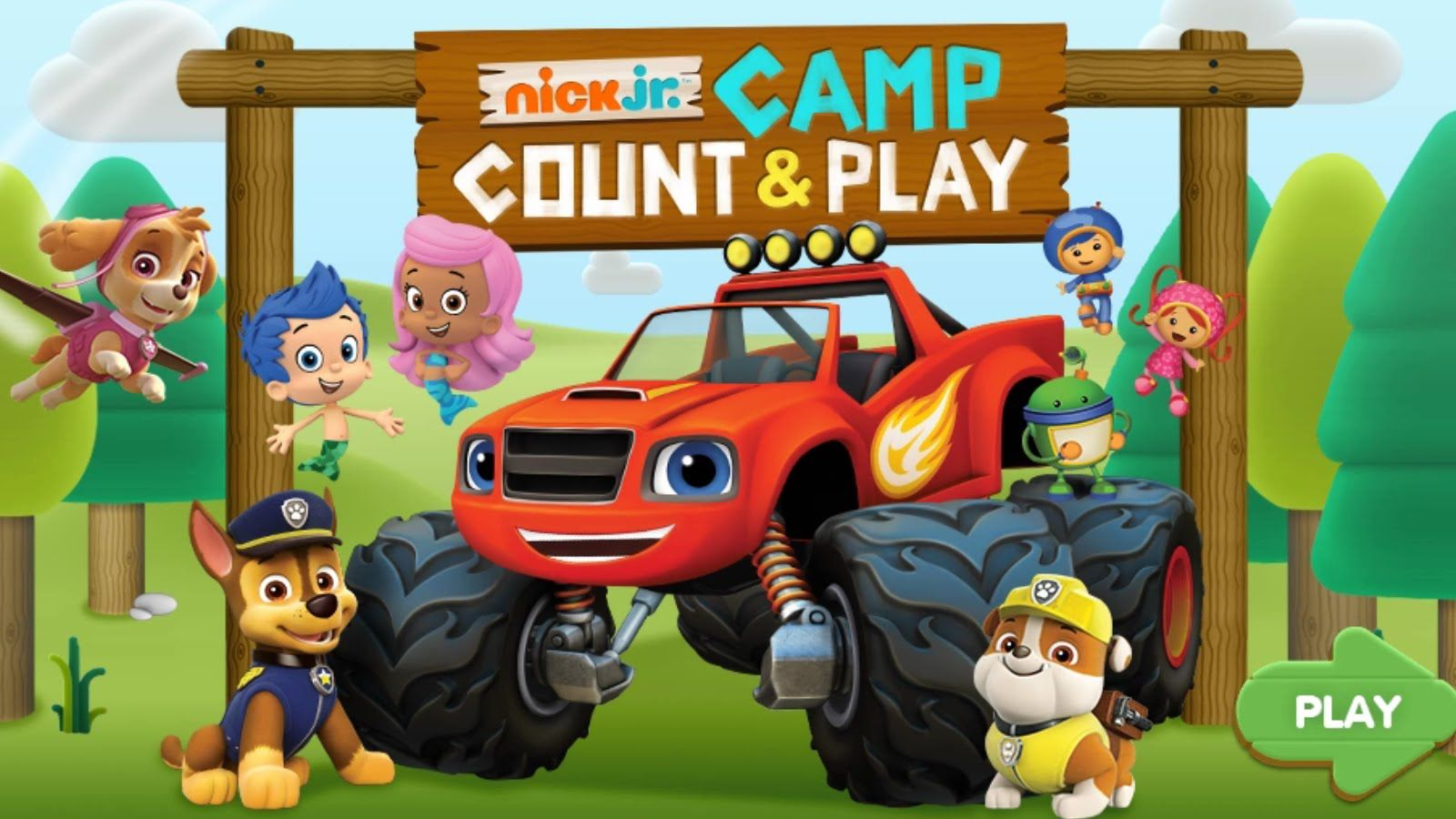 Nick Jr.: Camp Count & Play - FULL   CASUAL GAMES   Pinterest