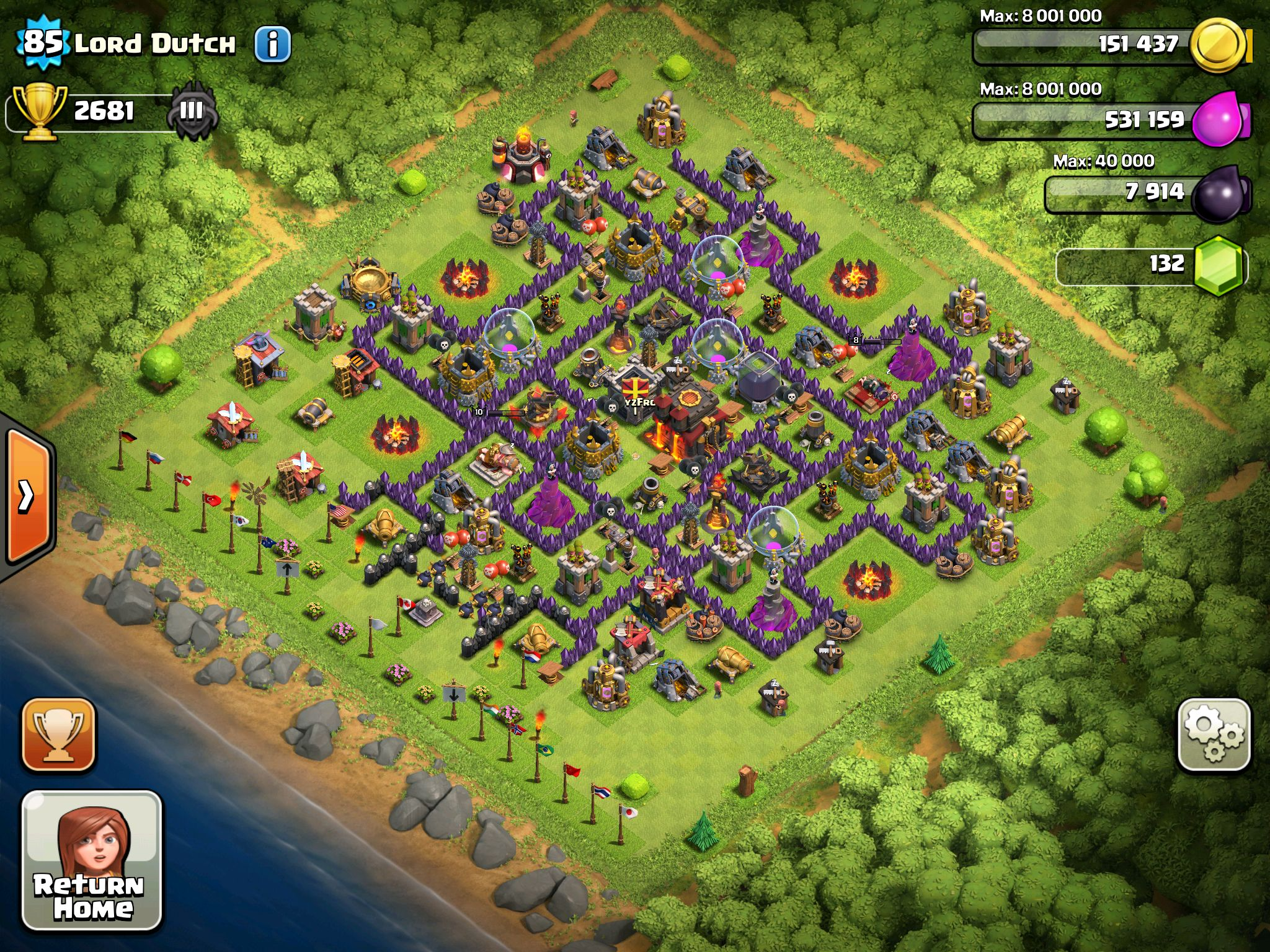 a master level clash of clans pinterest