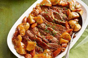 DIY :):) Pecho de res al horno con salsa para asar Receta - Comida Kraft