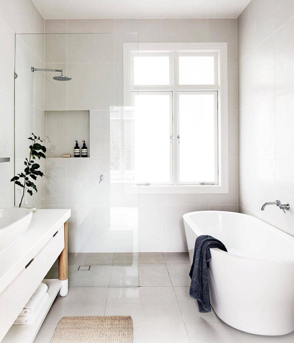 Perfect bathroom via death by elocution | in/out | Pinterest ...