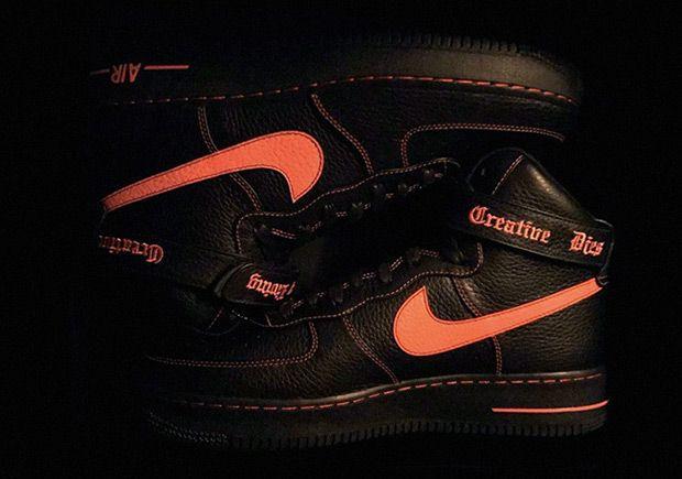 Vlone Nike Air Force 1 High Sneakernews Com Nike Air Force Nike Air Vlone Nike