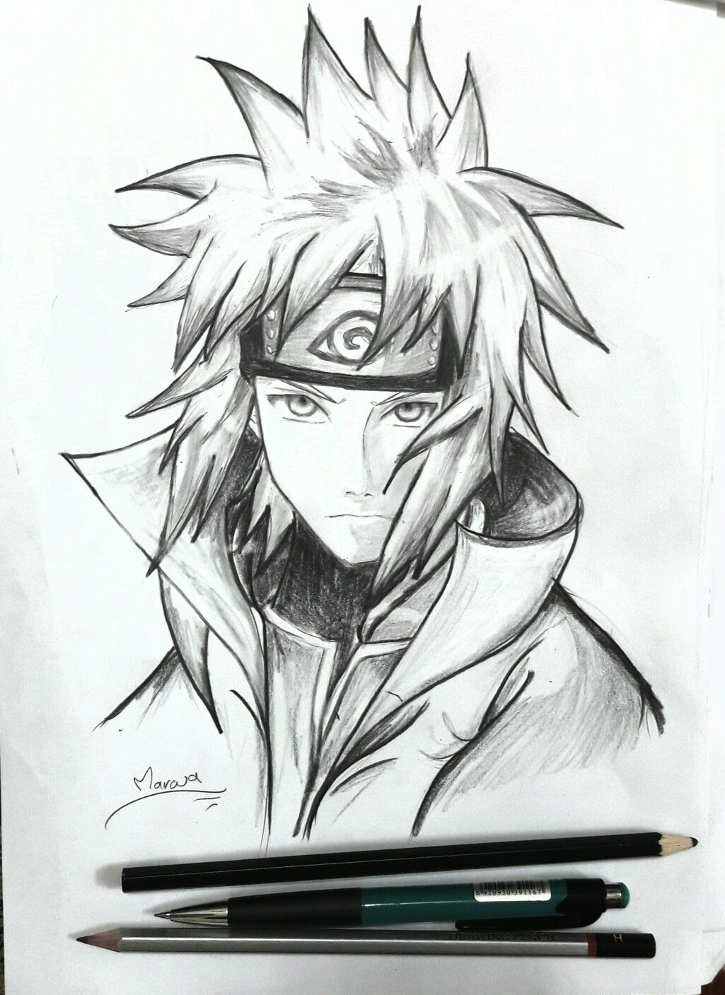 Minato 4th Hokage With Images Sketches Naruto Art Drawings