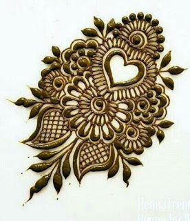 Rajasthani Flower Mehndi Designs For Hands Step By Step