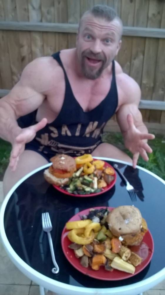 Vegan Mr Universe 40 Says Meat Free Diet Has Made Him