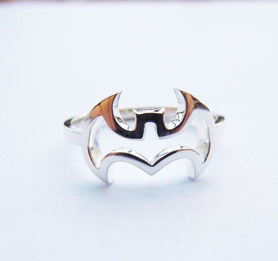 Hey, I found this really awesome Etsy listing at http://www.etsy.com/listing/159236873/batman-ring-in-solid-sterling-silver-all
