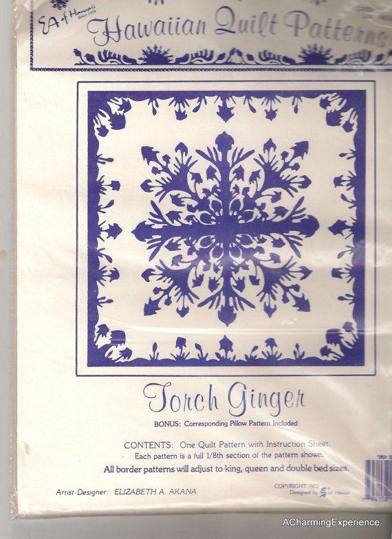 Hawaiian Quilt Pattern - Beautiful | Quilts | Pinterest