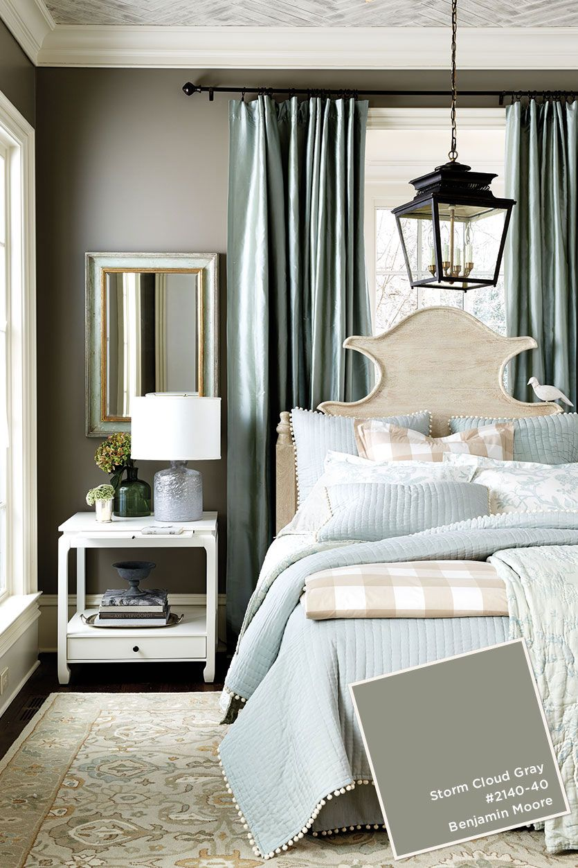 May June 2016 Catalog Paint Colors Ballard Designs Benjamin Moore StormGray Wall ColorsGray Dining RoomsIdeas