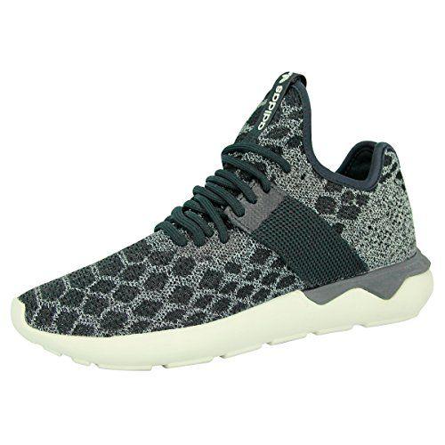 a72b1f0fff8649 adidas Originals TUBULAR RUNNER PRIMEKNIT Grey Black Unisex Sneakers Shoes  Fitness Wear
