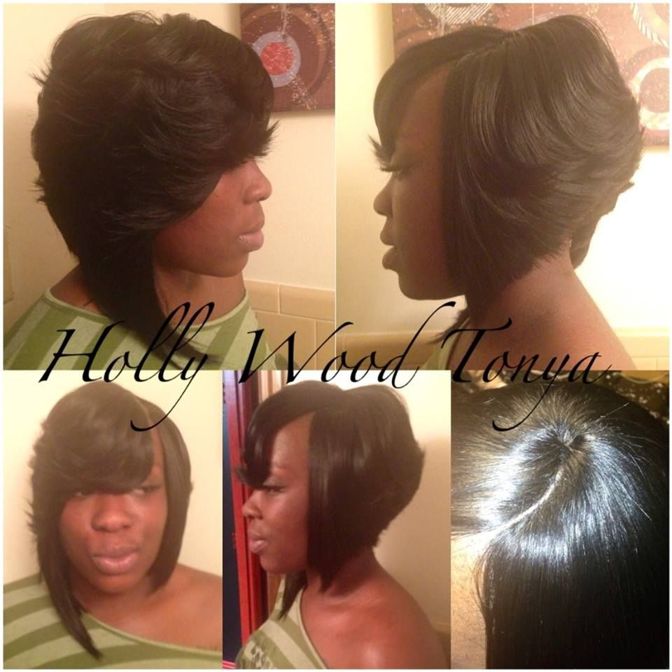 layered bob with invisible part | hair | pinterest | layered bobs