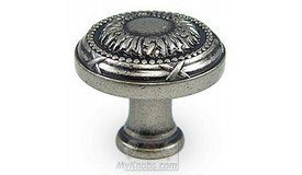 Top Knobs - Edwardian Knob in Pewter Antique - ( M959 ) 8.10