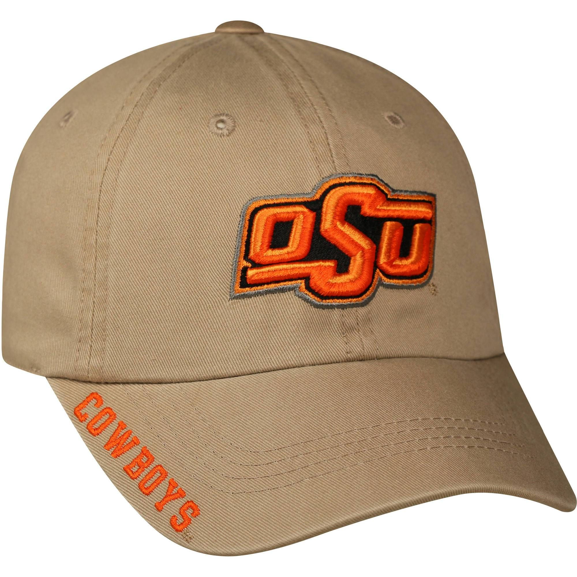 quality design 54a74 9f913 ... new arrivals oklahoma state cowboys ncaa mens adjustable ball cap hat  khaki 681c1 21ca8