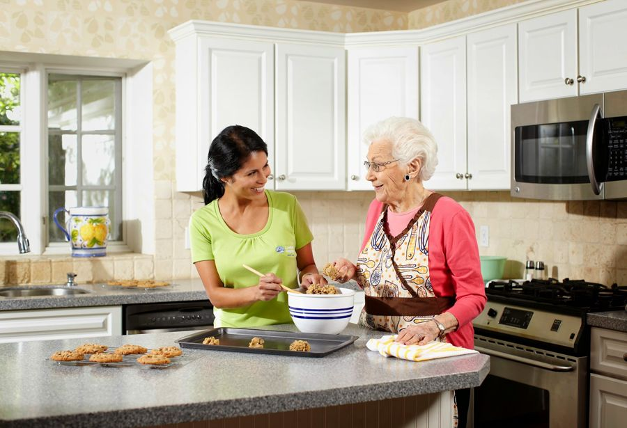 Comfort keepers provides quality assisted living inhome
