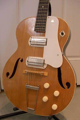 Harmony Roy Smeck H58 Archtop Vintage