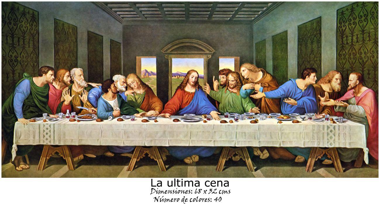 La Ultima Cena The Last Supper Painting Da Vinci Last Supper Last Supper