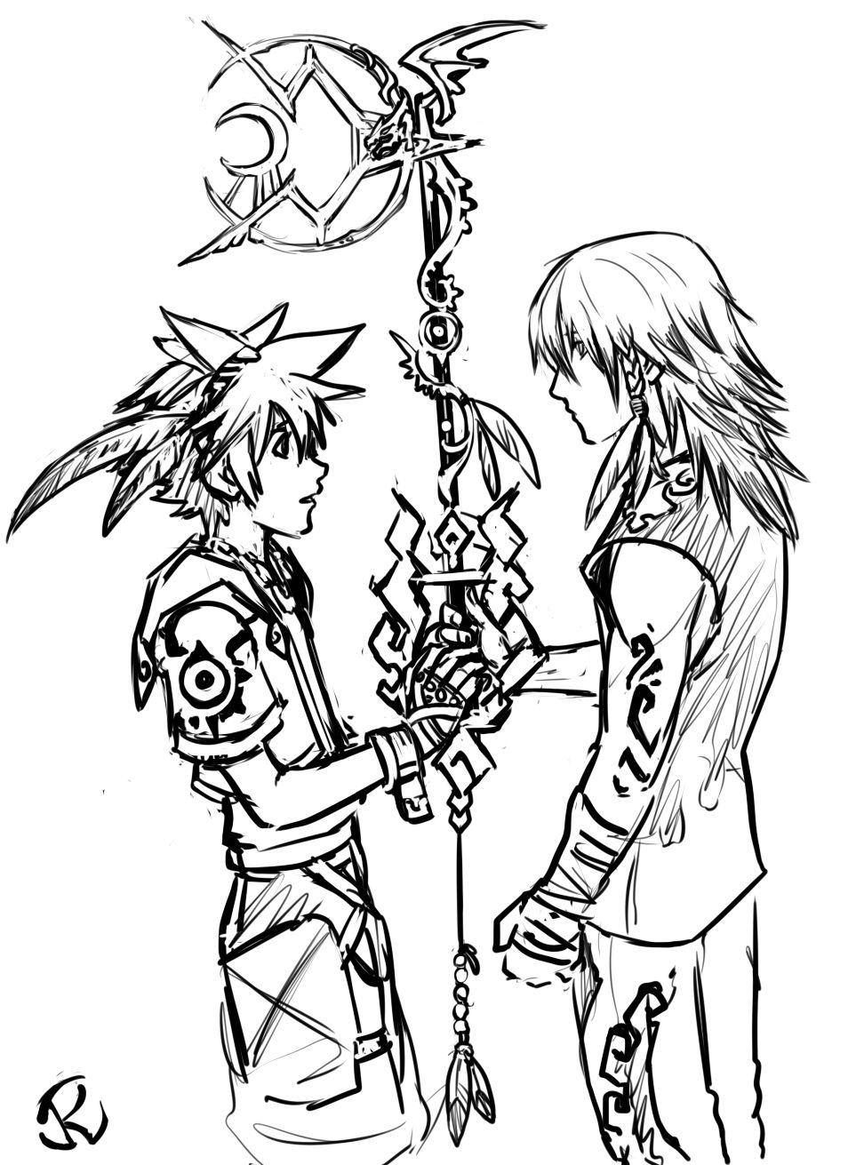 Tales of Zestiria meets Kingdom Hearts. Oh, look, some Sora ...