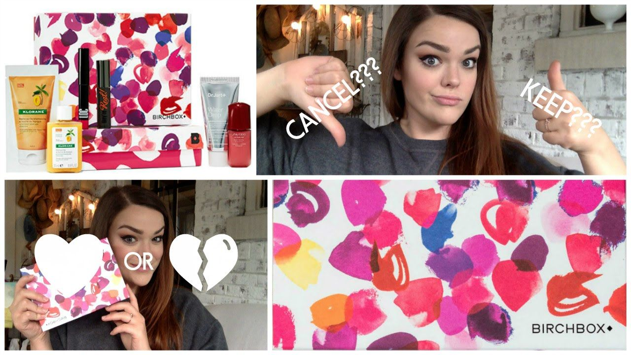 BIRCHBOX UNBOXING JULY 2016 TO CANCEL OR NOT TO CANCEL