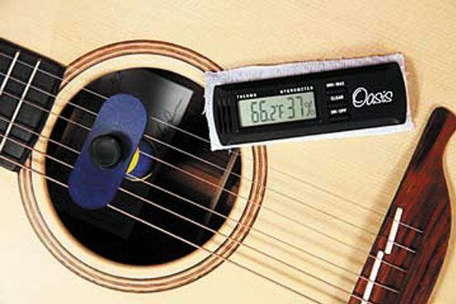 Oasis Oh 14 Case Plus Humidifier With Oh 2 Digital Hygrometer Combo Pack By Oasis 46 95 The Oasis Oh 14 Case Plus Humidifier Guitar Guitar Tuning Hygrometer