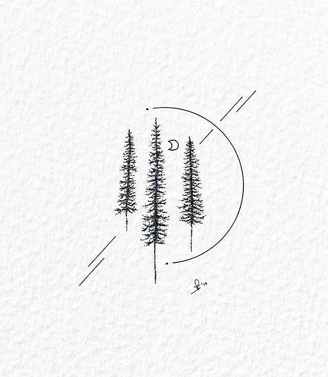 Instagram post by Black and White Illustrations • Dec 16, 2017 at 2:00pm UTC -   - #200pm #black #Dec #illustrations #instagram #naturetattoo #post #treetattoo #UTC #white