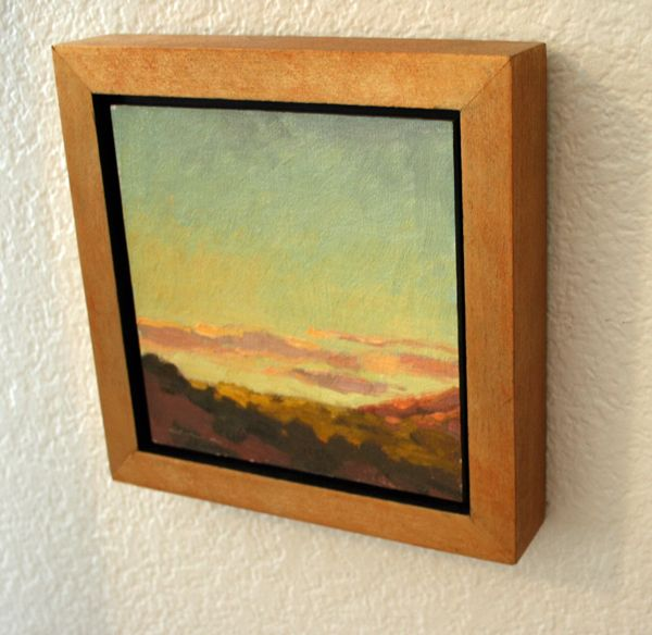 Do you have a lot of Plein Air paintings in your studio, and you ...