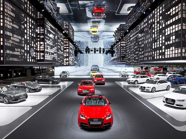 Audi Hanging City By Kms Blackspace In Frankfurt Car