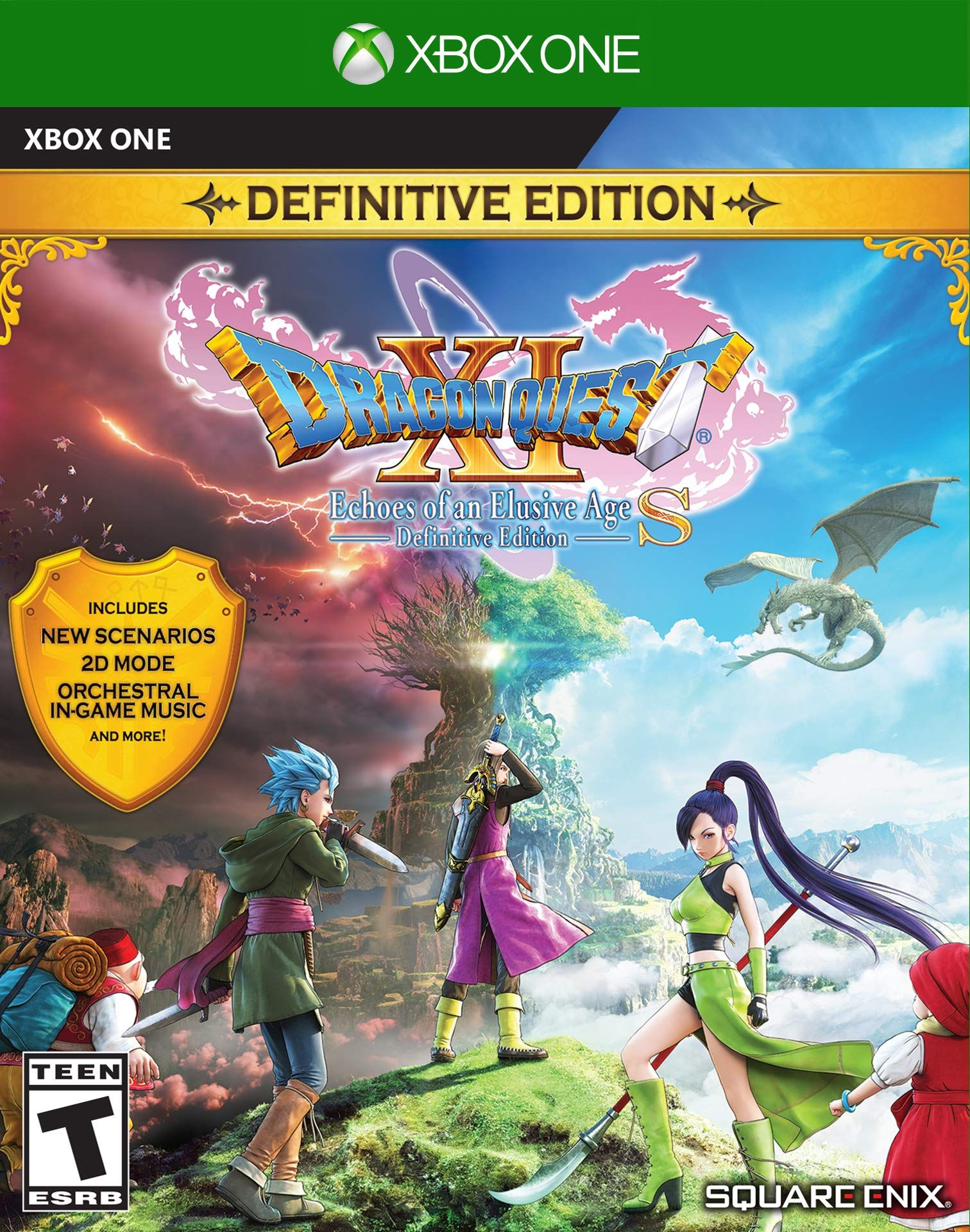 Dragon Quest Xi S Echoes Of An Elusive Age Dragon Quest Tv Tropes Echo