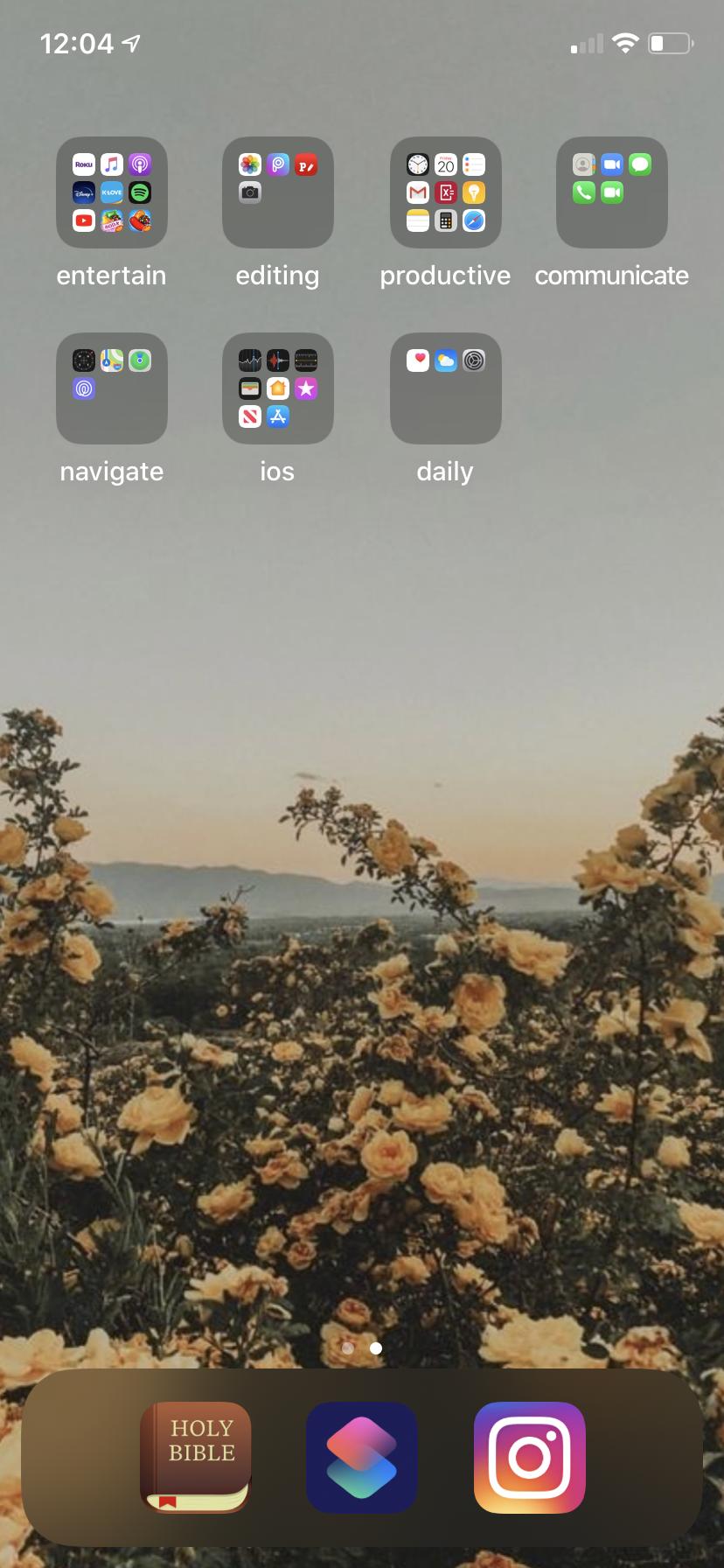 Minimalist Phone App Organization Inspiration Organize Phone Apps Iphone Organization Minimalist Phone