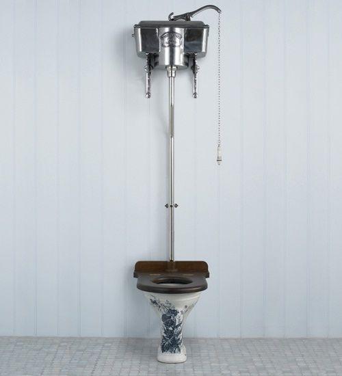 retro toilette look badgestaltung dream home. Black Bedroom Furniture Sets. Home Design Ideas