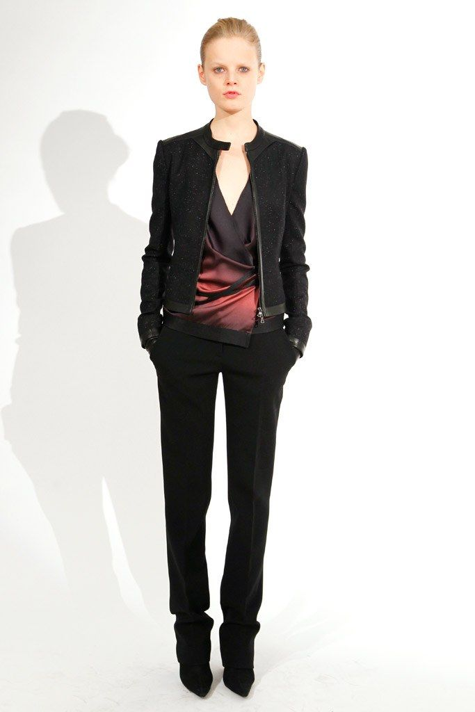 Narciso Rodriguez Pre-Fall 2011 Fashion Show - Hanne Gaby Odiele