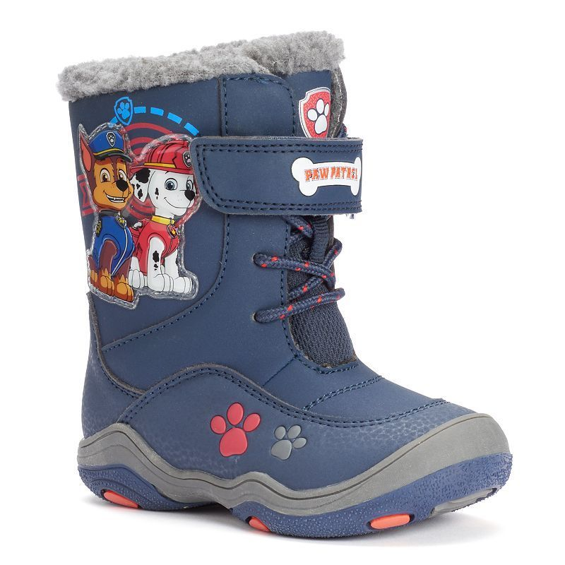 071f0c1cf777 Paw Patrol Chase   Marshall Toddler Boys  Light-Up Water-Resistant Winter  Boots