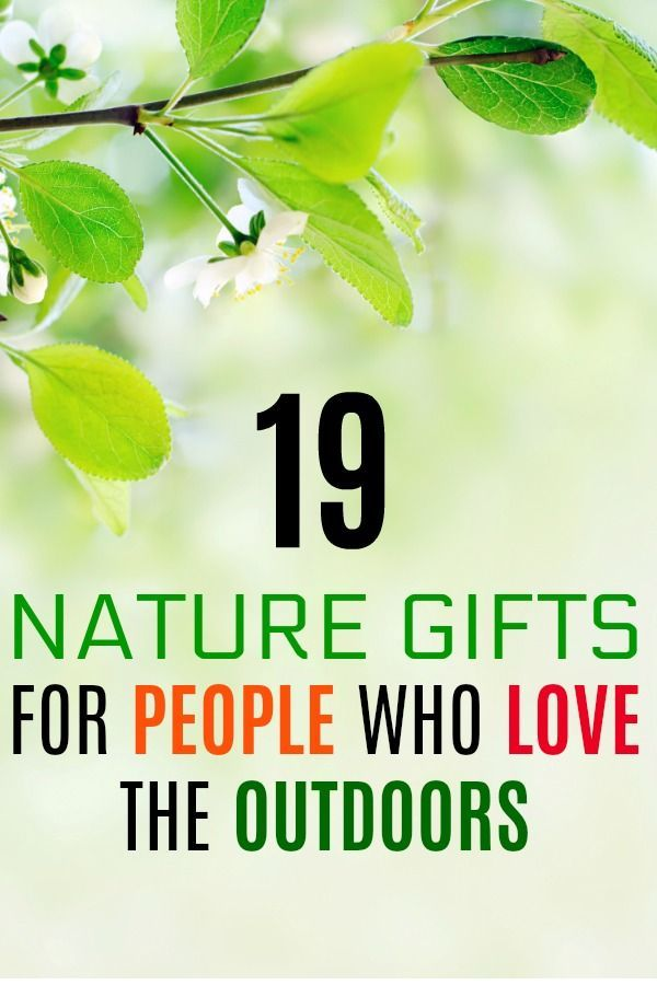 Nature lovers christmas gifts