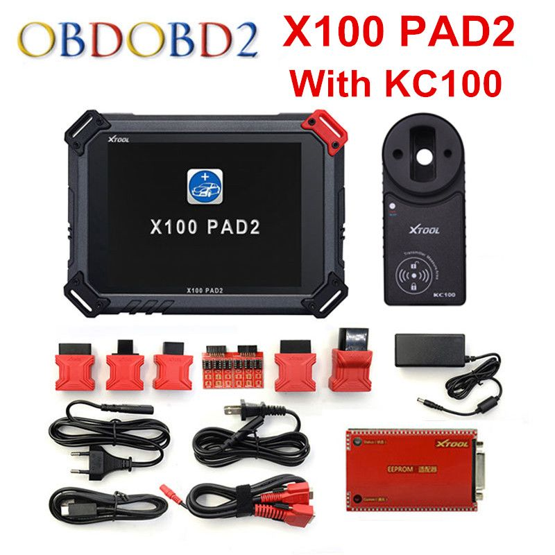 Original Xtool X100 Pad2 Auto Key Programme With Kc100 For Vw 4th