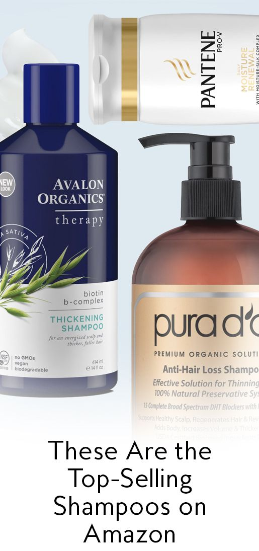 These Are the 7 Top-Selling Shampoos on Amazon